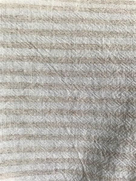 Close up fabric maxi shirt dress