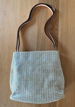 Long strap handbag