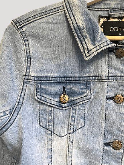 Pocket detail close up denim