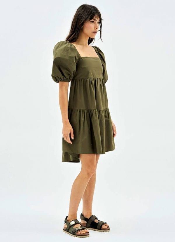 Side view babydoll dress