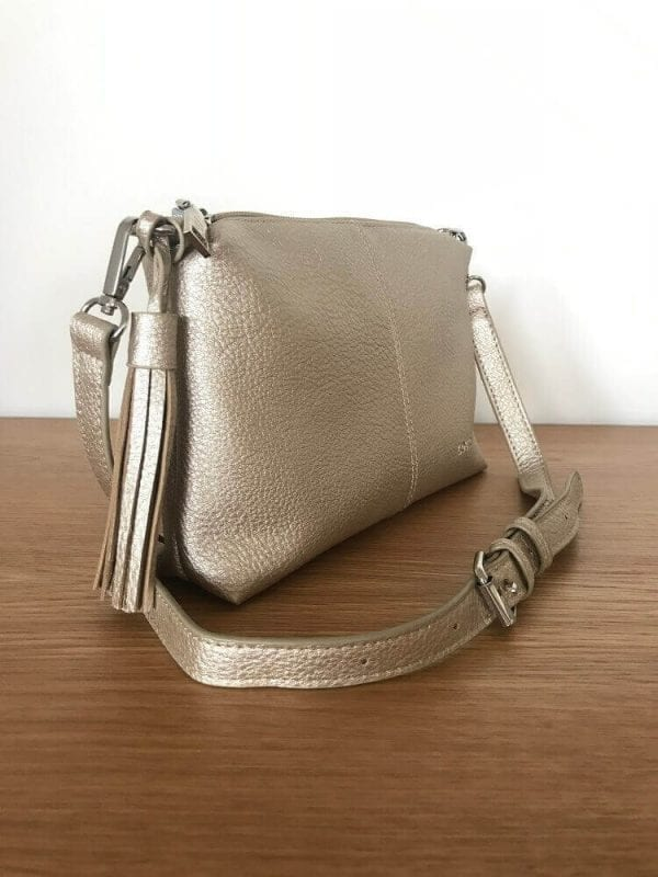 Small crossbody bag side view