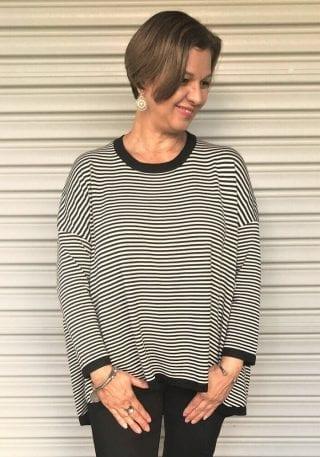 Striped jumper womens