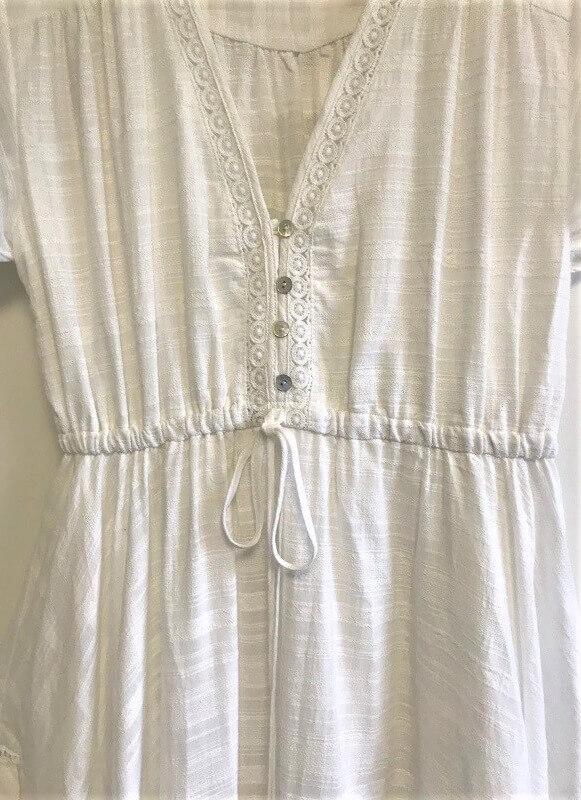 Waist drawstring feature maxi dress
